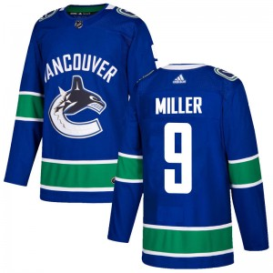 J.T. Miller Vancouver Canucks Men's Adidas Authentic Blue Home Jersey