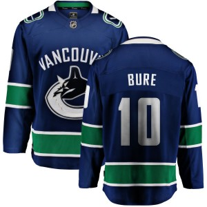 Pavel Bure Vancouver Canucks Men's Fanatics Branded Blue Home Breakaway Jersey