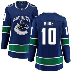 Pavel Bure Vancouver Canucks Women's Fanatics Branded Blue Home Breakaway Jersey