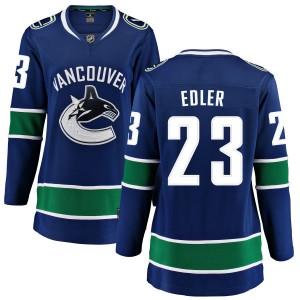 Alexander Edler Vancouver Canucks Women's Fanatics Branded Blue Home Breakaway Jersey