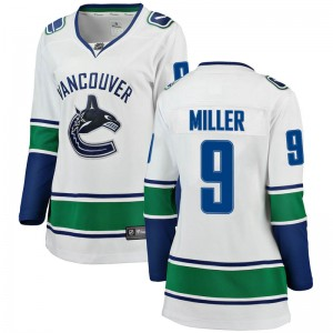 J.T. Miller Vancouver Canucks Women's Fanatics Branded White Breakaway Away Jersey