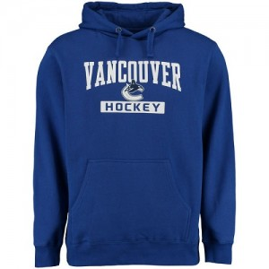 Vancouver Canucks Men's Royal Rinkside City Pride Pullover Hoodie