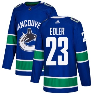 Alexander Edler Vancouver Canucks Men's Adidas Authentic Blue Jersey