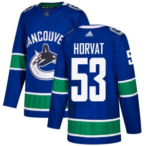 Bo Horvat Vancouver Canucks Men's Adidas Authentic Blue Jersey