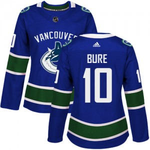 Pavel Bure Vancouver Canucks Women's Adidas Authentic Blue Home Jersey