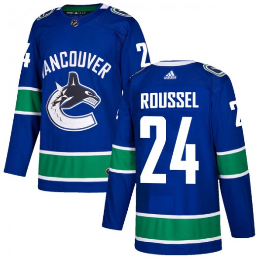 Antoine Roussel Vancouver Canucks Men's Adidas Authentic Blue Home Jersey