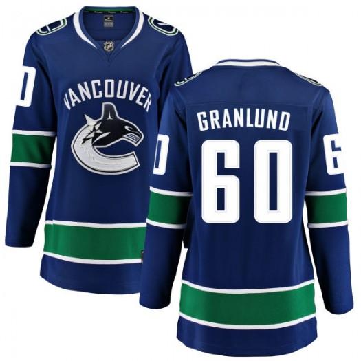Markus Granlund Vancouver Canucks Women's Fanatics Branded Blue Home Breakaway Jersey