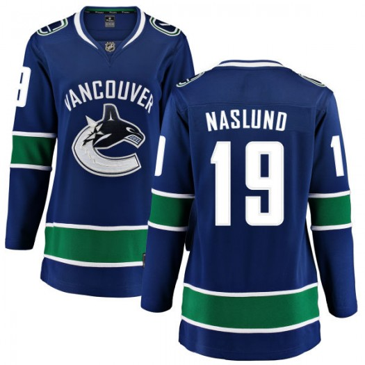 Markus Naslund Vancouver Canucks Women's Fanatics Branded Blue Home Breakaway Jersey