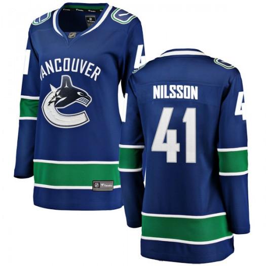 Tom Nilsson Vancouver Canucks Women's Fanatics Branded Blue Breakaway Home Jersey