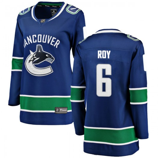 Marc-Olivier Roy Vancouver Canucks Women's Fanatics Branded Blue Breakaway Home Jersey