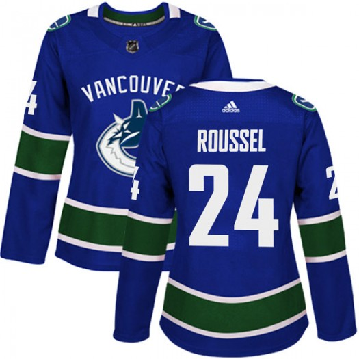 Antoine Roussel Vancouver Canucks Women's Adidas Authentic Blue Home Jersey