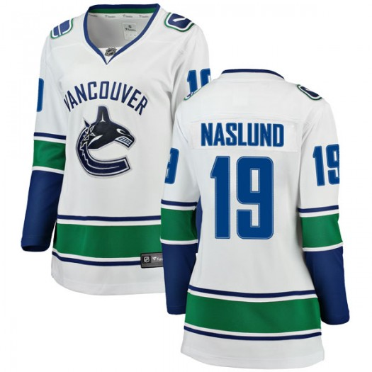 Markus Naslund Vancouver Canucks Women's Fanatics Branded White Breakaway Away Jersey