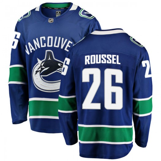Antoine Roussel Vancouver Canucks Men's Fanatics Branded Blue Breakaway Home Jersey