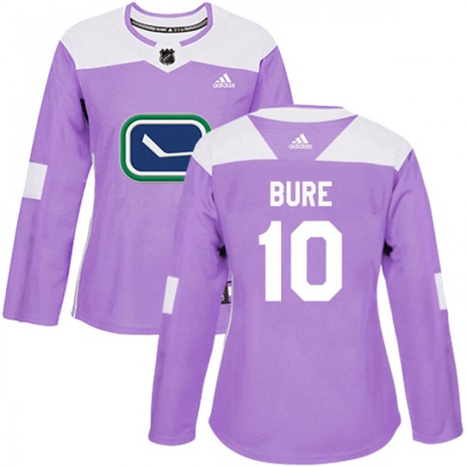 Pavel Bure Vancouver Canucks Women's Adidas Authentic Purple Fights Cancer Practice Jersey