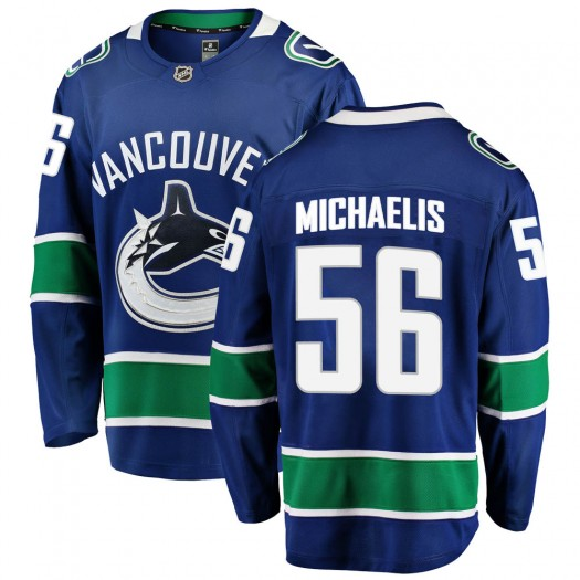 Marc Michaelis Vancouver Canucks Youth Fanatics Branded Blue Breakaway Home Jersey